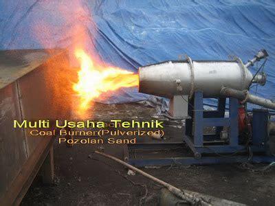 Tempat Jual Sekam Bakar modifikasi burner perbaikan burner overhaul burner