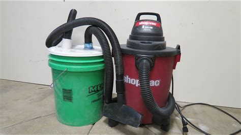 cheapest diy dust collection system youtube