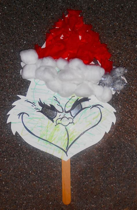 diy kids grinch mask