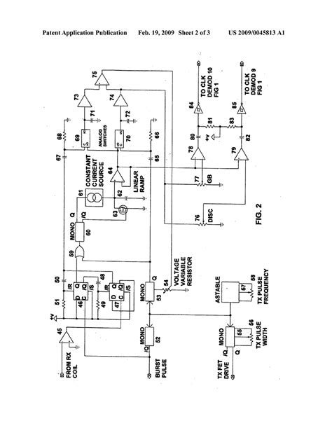 pulse detector circuit diagram pulse induction metal detector circuit schematic