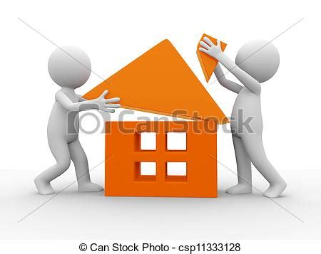 build a house online free clip art of build a house two cartoon characters to