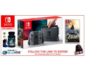 Sweepstakes Nintendo Switch - win a nintendo switch prize pack from bluvos energy free sweepstakes contests