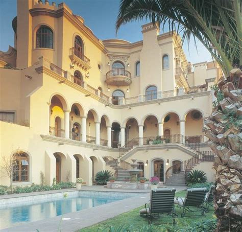 mexico houses mexican mansion architecture san miguel