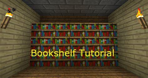 minecraft 1 3 1 4 how to make a bookshelf