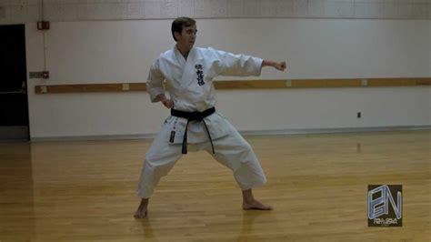 shotokan karate heian nidan kata demonstration