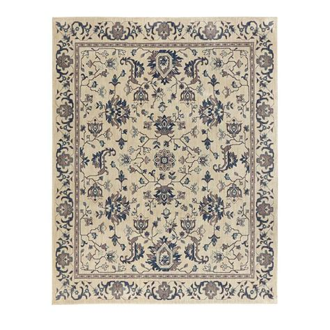 11 x 12 area rug home decorators collection jackson blue ivory 10 ft x 12 ft 11 in area rug 509385 the home