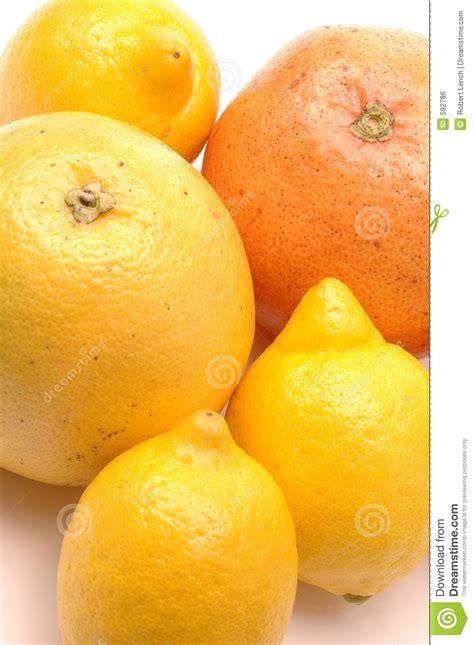 lemons  grapefruits stock photo image  tasty yellow