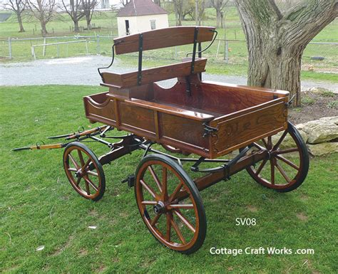 usa amish pony wagons carts complete or kits