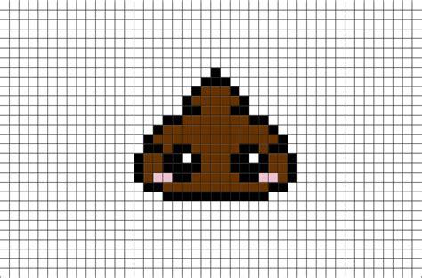 poop pixel art brik