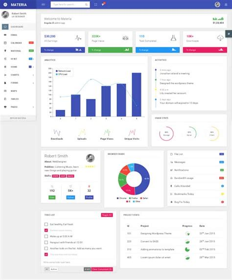 40 best free bootstrap admin templates 2018 freshdesignweb