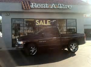 dodge ram on gazarios rent a wheel rent a tire