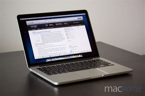Macbook Pro Retina 13 macbook pro mit retina display review