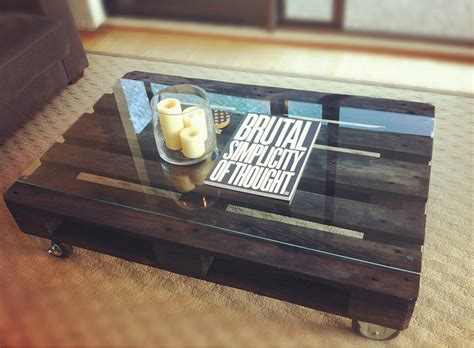 tips in creating coffee table from wooden pallets