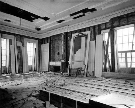 white house renovation photos president harry truman s white house renovation urban ghosts