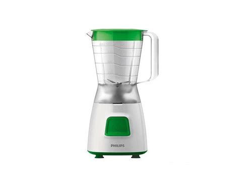 electronic city philips blender white green hr2057