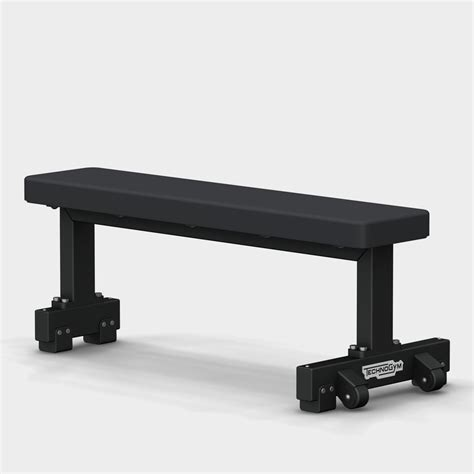 pure fitness flat bench pure strength gym bench technogym