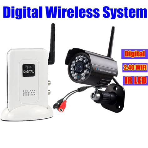 home security cctv wireless system 2 4ghz digital
