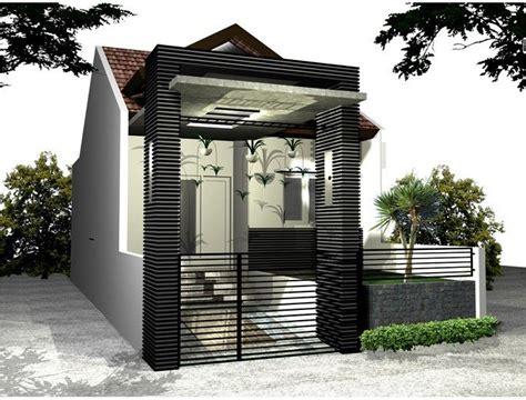 desain pagar rumah unik 33 best images about denah dan desain rumah on pinterest