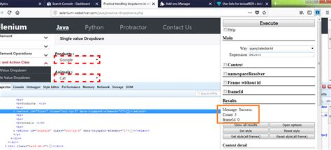 css xpath tutorial try xpath add on to firefox 57 firebug replacement