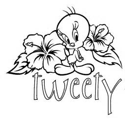 coloring page tweety bird images