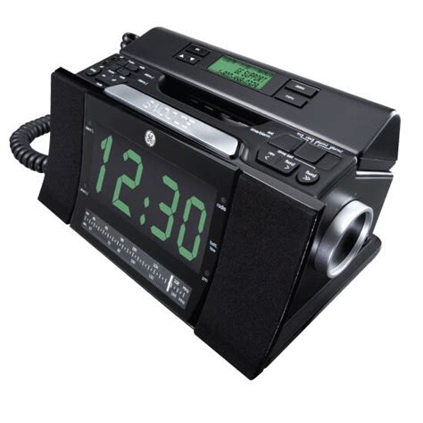 ge corded bedroom phone cid radio alarm clock 29298fe1 ebay