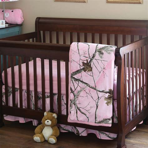 Crib And Mattress Set Realtree Camo Bedding 3 Pink Camo Realtree Ap Crib Set Camo Trading