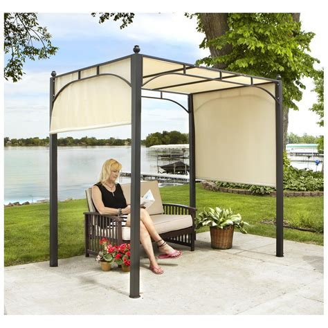 Castlecreek Retractable Awning by Castlecreek Pergola 421744 Awnings Shades At