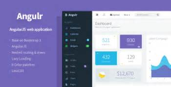 Angular Ui Bootstrap Template by 20 Angularjs Admin Templates For Templateflip