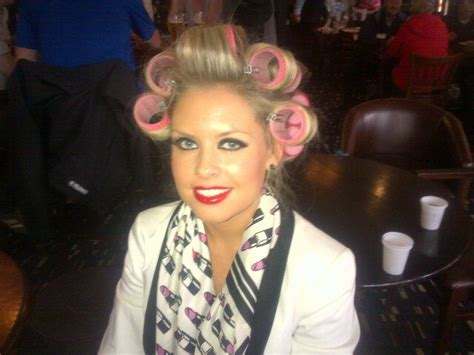 roller set rollers and vintage on pinterest rollers are so cute on her salons curlers pinterest