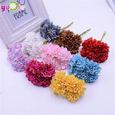 Aliexpress Buy Wedding Decoration 12pcs Lot - aliexpress buy 12pcs lot mini silk artificial