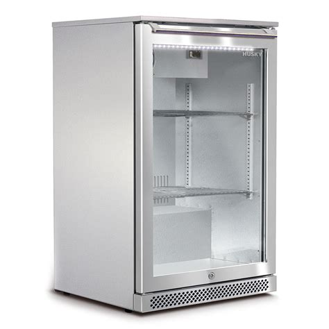 Husky Alfresco 1 Glass Door Bar Fridge Available Brisbane Glass Door Mini Refrigerators