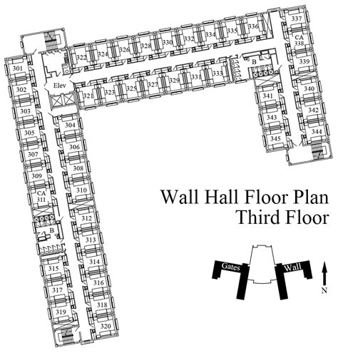 lynnewood hall first floor plan architectural floor texas tech university university student housing