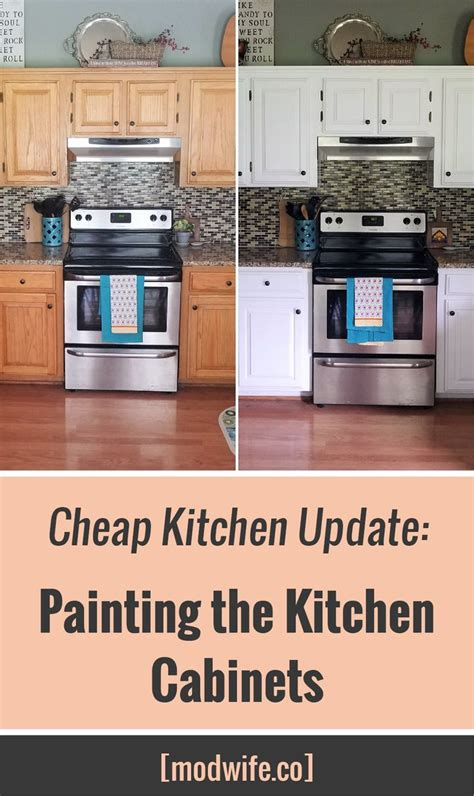 diy painted rustic kitchen cabinets cabinet home paint your kitchen cabinets for under 40 with these