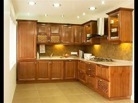 Interior Kitchen Cabinets Small Kitchen Interior Design Ideas In Indian Apartments
