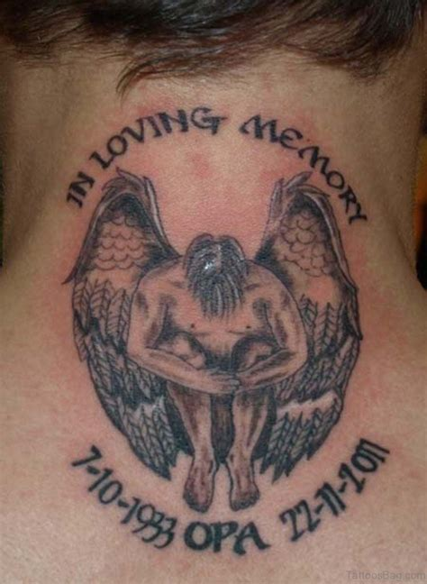 loving memory tattoos 51 prettiest memorial tattoos on back