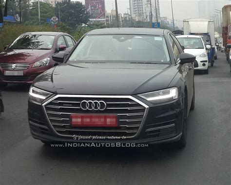 Audi S8 Price In India by Fifth Gen 2018 Audi A8 Spied Testing In India Yet Again