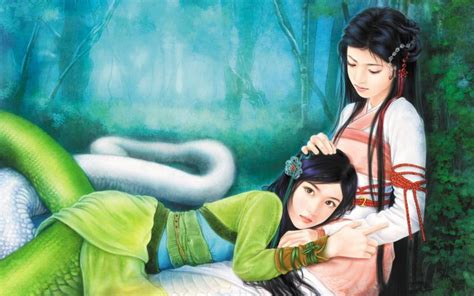 film china white snake hd green snake white snake wallpaper download free 97301