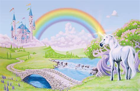 Unicorn Rainbow Wallpapers   WallpaperSafari
