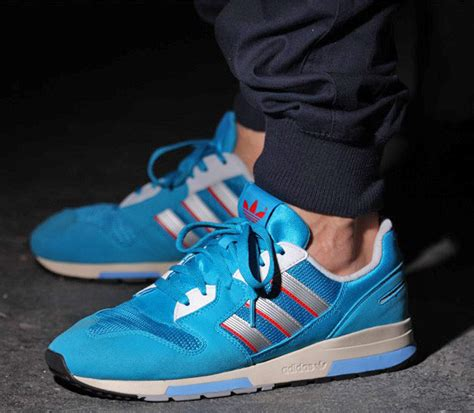 Sepatu Adidas Zx 900 Aqua Pink blue issue the vandallist