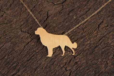 golden retriever jewelry golden retriever necklace gold necklace by meytalbarnoy