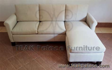Sofa Tv Minimalis sofa sudut l minimalis jati ruang nonton tv murah
