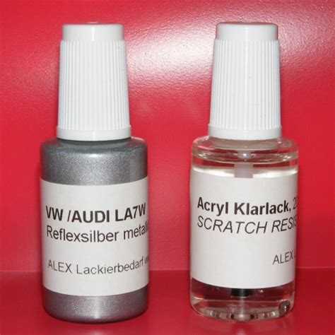 Lackstift Klarlack Polieren by Lackstift Vw Audi Skoda La7w Reflexsilber Metallic