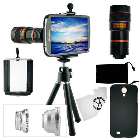 Tellezoom 8x Universal Plus Tripod Plus Holder All Smartphone camkix lens kit for samsung galaxy s4 including 8x telephoto lens fisheye