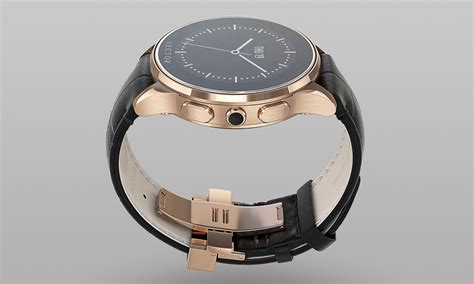 Anye Tote Bag Rosegold Anye a traditional timepiece style smartwatch by vector selectism