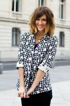 how does courtney kerr style her short hair courtney kerr shoulder length bob hair pinterest