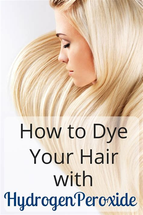 how to add highlights to your own hair 7 steps ehow how to dye your hair with hydrogen peroxide hydrogen