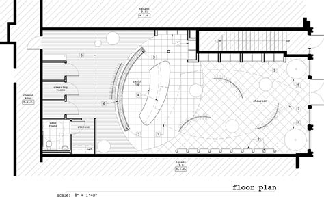 clothing store floor plan bleu retail store go design archinect