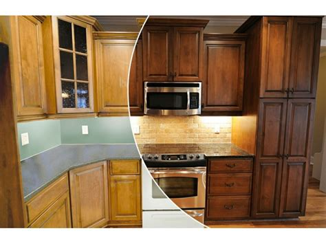 kitchen cabinet renewal n hance wood renewal revs kitchen cabinets and floors of