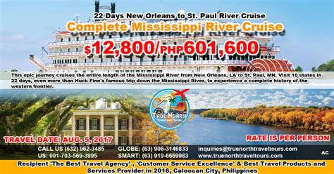 5 day mississippi river boat cruise 5d highlights of the columbia river true north travel