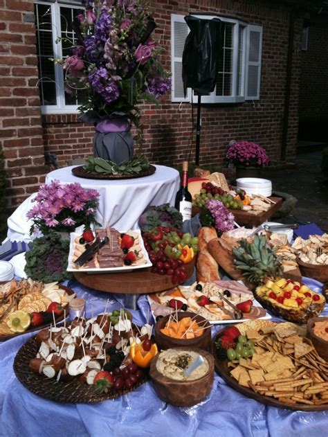 Gourmet Meat & Cheese Display   Catering   Pinterest